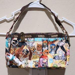 LeSportsac Tokidoki Pirate Bambino Qee Small Bag
